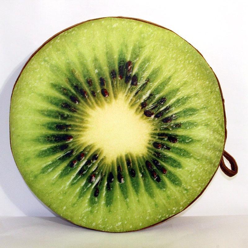 Coussin De Sol 3D Fruit Tendance