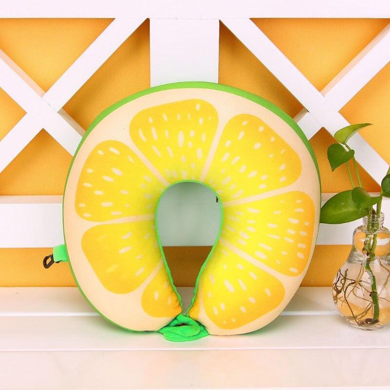 Coussin De Sol 3D fruits Forme U