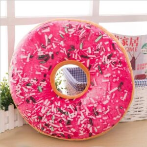 Coussin De Sol Donut En Peluche