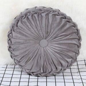 Coussin De Sol Gris Anthracite