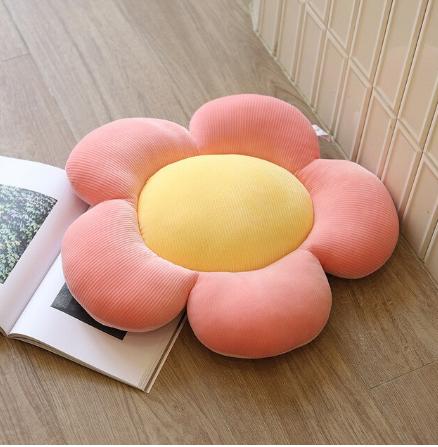 Coussin De Sol Soleil Fleurs Bébé