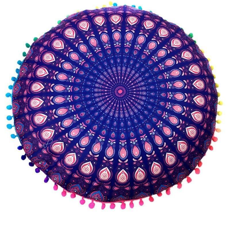 Coussin De Sol Textile Bohème